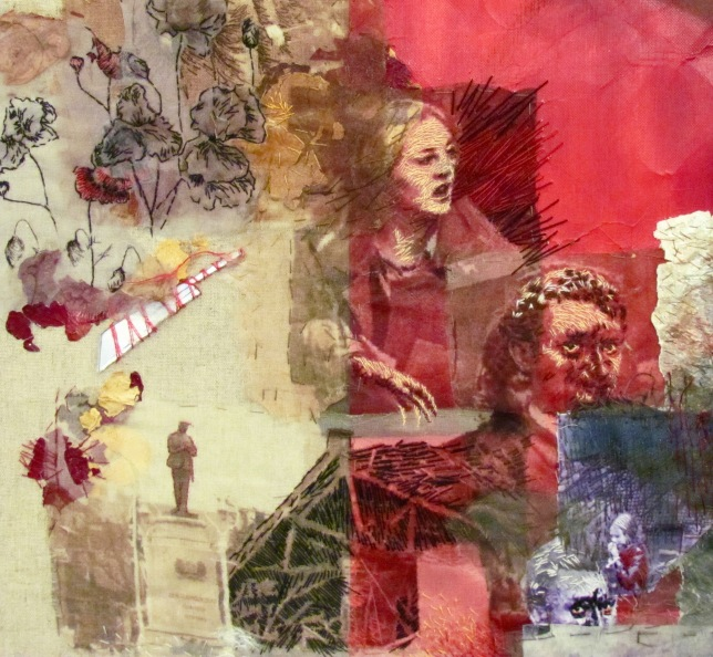 Eileen Harrisson Continuum detail girl man poppies and more
