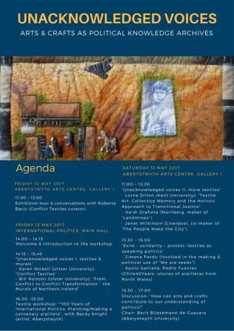 Final workshop agenda