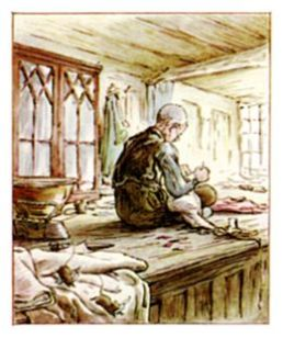 The tailor at work (B. Potter, 1903)